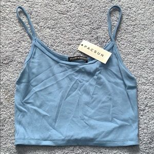 Brandy Melville crop top.